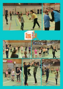 Volleybal clinic